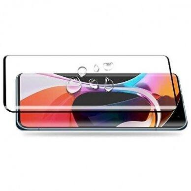 akcija!xiaomi mi 10 / 10 pro apsauginis stikliukas 5D Full Glue juodais kraštais 4