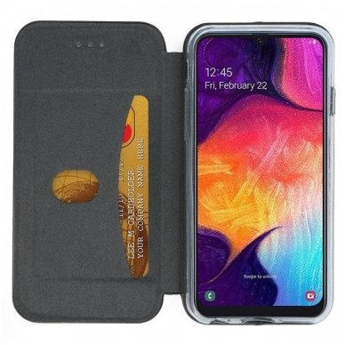 Samsung galaxy a20e atverčiamas dėklas Smart Verona pilkas 4