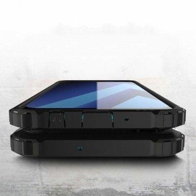 Huawei P smart 2019 dėklas Hybrid Armor  TPU+PC plastikas juodas 4