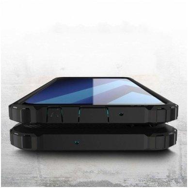 Huawei P smart 2019 dėklas Hybrid Armor  TPU+PC plastikas mėlynas 4