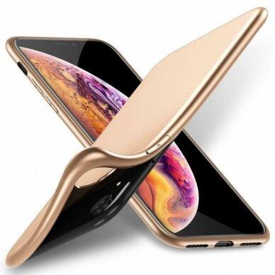 akcija!Samsung galaxy a50 dėklas X-LEVEL GUARDIAN silikonas auksinis 2