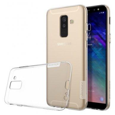 Samsung galaxy j6 plus 2018 dėklas nillkin Nature TPU skaidrus 0,6 mm