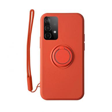 Samsung Galaxy a52 / a52 5g dėklas su magnetu Pastel Ring Raudonas  6