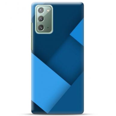 """Samsung Galaxy Note 20 TPU dėklas unikaliu dizainu 1.0 mm """"u-case Airskin Blue design"""""""
