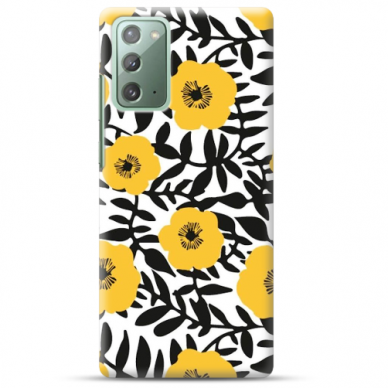 "Samsung Galaxy Note 20 TPU dėklas unikaliu dizainu 1.0 mm ""u-case Airskin Flowers 2 design"""
