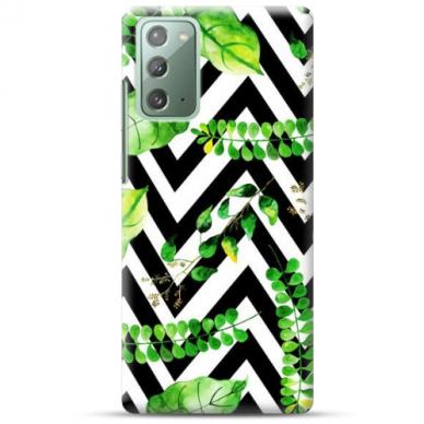"""Samsung Galaxy Note 20 TPU dėklas unikaliu dizainu 1.0 mm """"u-case Airskin Leaves 2 design"""""""
