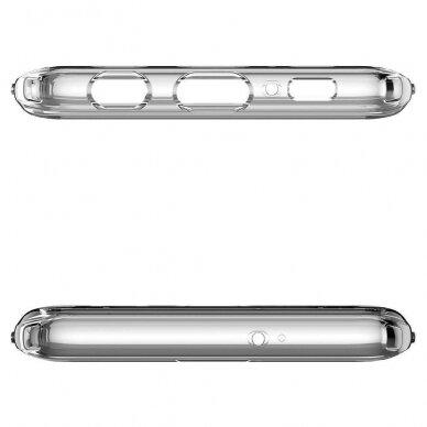"""Samsung Galaxy Note 20 TPU dėklas unikaliu dizainu 1.0 mm """"u-case Airskin Blue design"""" 4"""