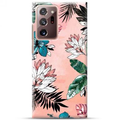 """Samsung Galaxy Note 20 ultra TPU dėklas unikaliu dizainu 1.0 mm """"u-case Airskin Flowers 1 design"""""""