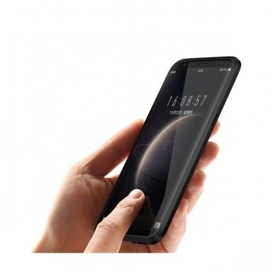 Samsung galaxy S8 plus  dėklas iPaky Slim Carbon TPU juodas 2