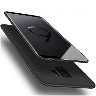 Samsung galaxy S9 dėklas X-LEVEL GUARDIAN silikonas juodas