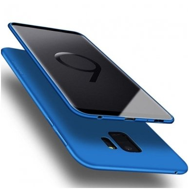 Samsung galaxy S9 dėklas X-LEVEL GUARDIAN silikonas mėlynas