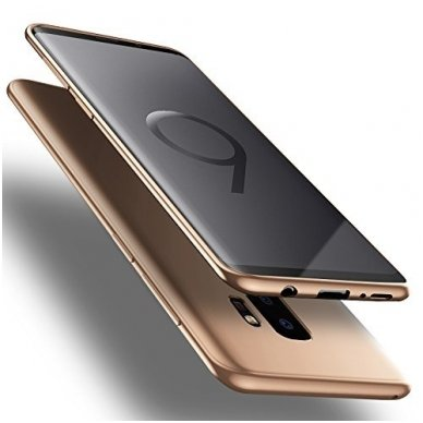 Samsung galaxy s9 plus dėklas X-LEVEL GUARDIAN silikonas auksinis