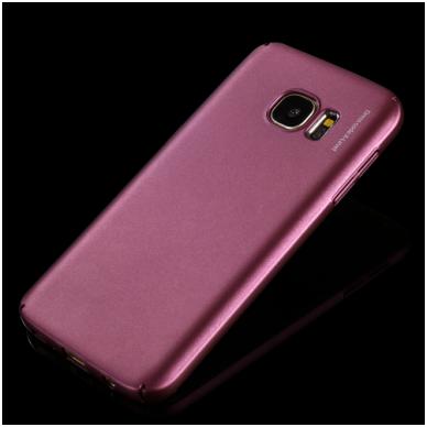 Samsung galaxy S6 EDGE PLUS dėklas X - LEVEL GUARDIAN silikonas bordo 3