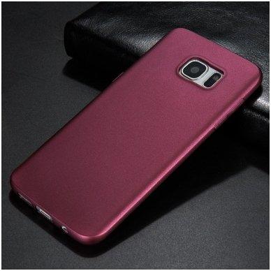 Samsung galaxy S6 EDGE PLUS dėklas X - LEVEL GUARDIAN silikonas bordo