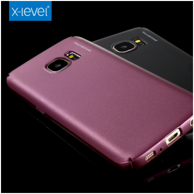 Samsung galaxy S6 EDGE PLUS dėklas X - LEVEL GUARDIAN silikonas bordo 4