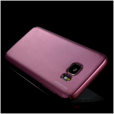Samsung galaxy S6 EDGE PLUS dėklas X - LEVEL GUARDIAN silikonas bordo 2