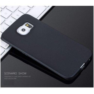 Samsung galaxy S6 EDGE PLUS dėklas X - LEVEL GUARDIAN silikonas juodas