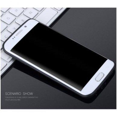 Samsung galaxy S6 EDGE PLUS dėklas X - LEVEL GUARDIAN silikonas juodas 2