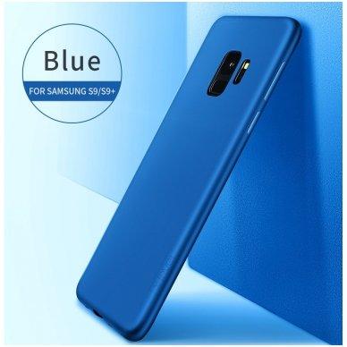 Samsung galaxy S9 dėklas X-LEVEL GUARDIAN silikonas mėlynas 2