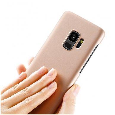 Samsung galaxy s9 plus dėklas X-LEVEL GUARDIAN silikonas auksinis 4