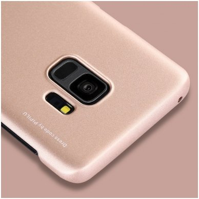 Samsung galaxy s9 plus dėklas X-LEVEL GUARDIAN silikonas auksinis 5