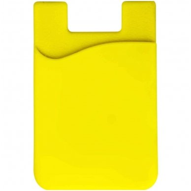 Banko kortelių dėklas, klijuojamas prie telefono nugarėlės įvairių spalvų 3