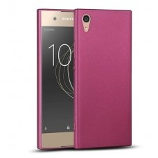 Sony Xperia XA 1 Premium dėklas X-LEVEL GUARDIAN silikonas bordo