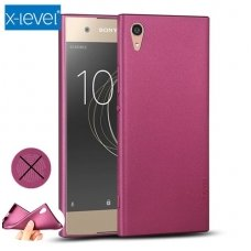 Sony Xperia XA Premium dėklas X-LEVEL GUARDIAN silikonas bordo