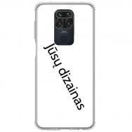 Xiaomi redmi note 9 TPU dėklas nugarėlė su jūsų dizainu. Dėklas gaminamas su jūsų pateikta nuotrauka