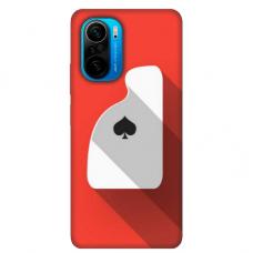 """Xiaomi Poco F3 TPU dėklas unikaliu dizainu 1.0 mm """"u-case Airskin Ace design"""""""