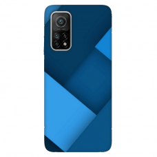 """Xiaomi Mi 10T / Mi 10T Pro TPU dėklas unikaliu dizainu 1.0 mm """"u-case Airskin Blue design"""""""