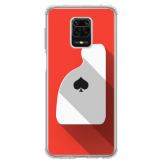 """Xiaomi Redmi Note 9 Pro max TPU dėklas unikaliu dizainu 1.0 mm """"u-case Airskin Ace design"""""""