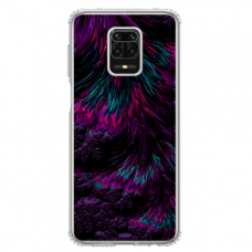 "Xiaomi Redmi Note 9s/ 9 pro TPU dėklas unikaliu dizainu 1.0 mm ""u-case Airskin Feather design"""