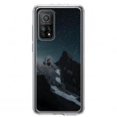 """Xiaomi Mi 10T / Mi 10T Pro TPU dėklas unikaliu dizainu 1.0 mm """"u-case Airskin Mountains 1 design"""""""
