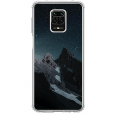 "Xiaomi Redmi Note 9s/ 9 Pro TPU dėklas unikaliu dizainu 1.0 mm ""u-case Airskin Mountains 1 design"""