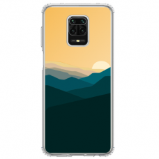 "Xiaomi Redmi Note 9s/ 9 Pro TPU dėklas unikaliu dizainu 1.0 mm ""u-case Airskin Mountains 2 design"""