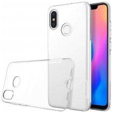 Xiaomi Mi 8 DĖKLAS NILLKIN NATURE 0.6MM TPU skaidrus