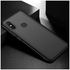 xiaomi mi 8 DĖKLAS X-LEVEL GUARDIAN SILIKONINIS 0,6MM juodas