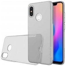 Xiaomi Mi 8 DĖKLAS NILLKIN NATURE 0.6MM TPU pilkas