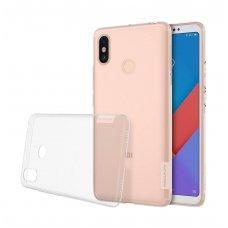 Xiaomi Mi Max 3 DĖKLAS NILLKIN NATURE 0.6MM TPU SKAIDRUS