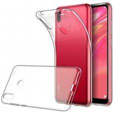 Akcija ! Xiaomi redmi note 7 DĖKLAS ultra slim 0,3 mm SILIKONAS SKAIDRUS