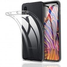 Samsung Galaxy Xcover Pro dėklas Antislip silikonas skaidrus