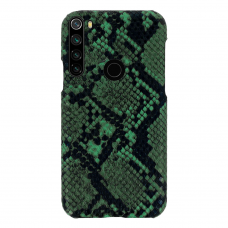 xiaomi redmi note 8t dėklas su gyvatės rašto imitacija Vennus WILD žalias