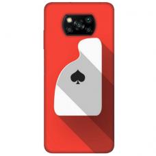 """Xiaomi Poco X3 NFC TPU dėklas unikaliu dizainu 1.0 mm """"u-case Airskin Ace design"""""""