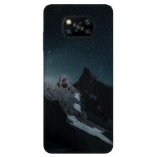 "Xiaomi Poco X3 NFC TPU dėklas unikaliu dizainu 1.0 mm ""u-case Airskin Mountains 1 design"""