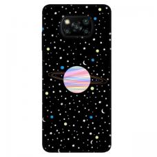 """Xiaomi Poco X3 NFC TPU dėklas unikaliu dizainu 1.0 mm """"u-case Airskin Planet design"""""""