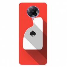 """Xiaomi Poco F2 pro TPU dėklas unikaliu dizainu 1.0 mm """"u-case Airskin Ace design"""""""
