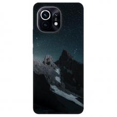 """Xiaomi Mi 11 TPU dėklas unikaliu dizainu 1.0 mm """"u-case Airskin Mountains 1 design"""""""