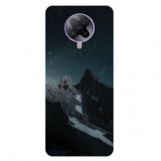 "Xiaomi Poco F2 pro TPU dėklas unikaliu dizainu 1.0 mm ""u-case Airskin Mountains 1 design"""