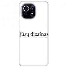 Xiaomi Mi 11 TPU dėklas nugarėlė su jūsų dizainu. Dėklas gaminamas su jūsų pateikta nuotrauka